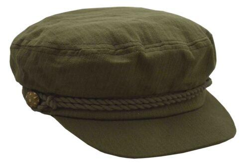 Epoch Men/'s Cotton Greek Cap Fisherman Apple Hat