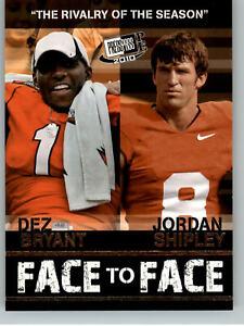 2010 Press Pass PE  Face to Face #FF-15 Dez Bryant & Jordan Shipley