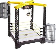 Mattel WWE Tough Talkers Championship Takedown Ring Playset FFH41