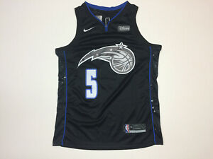 sports shoes 2acd0 12493 Details about Mohamed Bamba #5 Orlando Magic Black Men's Jersey Brand New