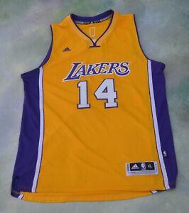 Details about Vintage Adidas NBA Los Angeles Lakers Brandon Ingram #14 Jersey Size XL.