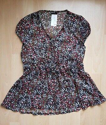 *neu* Damenbluse Damen Bluse Oberteil Kurzbluse Gr. 36 S Dauerhafte Modellierung