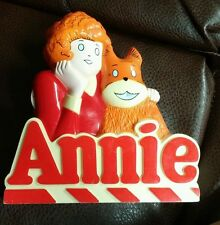1981 Little Orphan Annie SandyDog B/O Transistor Radio WORKS WINDSOR TRIBUNE TOY