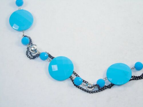 Choice of Colors Fashion Jewelry Necklace w//Beads /& Chains ~ Attractive Bling