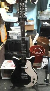 Danelectro-12-string-electric-made-in-Korea-new-old-stock-bundle