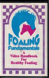Foaling-Fundamentals-VHS-Tape-A-Video-Handbook-for-Healthy-Foaling-1989