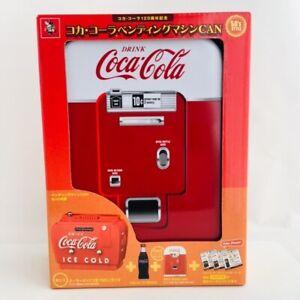 Coca-Cola-120th-Memorial-50-039-s-Vending-Machine-Tin-Box-with-Special-Goods-Japan