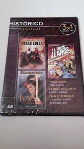 DVD-034-IVAN-EL-TERRIBLE-PARTE-1-Y-2-TARAS-BULBA-LA-INDIA-034-PRECINTADA-EISENSTEIN