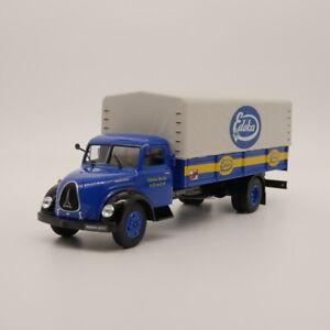 IXO-DEAGOSTINI-1-43-Camion-Magirus-Deutz-034-Edeka-034-Juguete-de-Metal-Modelo-automovil-de