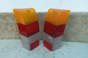 PAIR-NOS-GENUINE-ARIC-TAILLIGHT-REAR-LAMP-LENS-INNOCENTI-MINI-COOPER-MK2-MK3