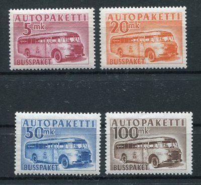 Finnland Gut Ausgebildete Finnland Autopaketmarken 6/9 Postfrisch ...................................2/632 Mit Einem LangjäHrigen Ruf