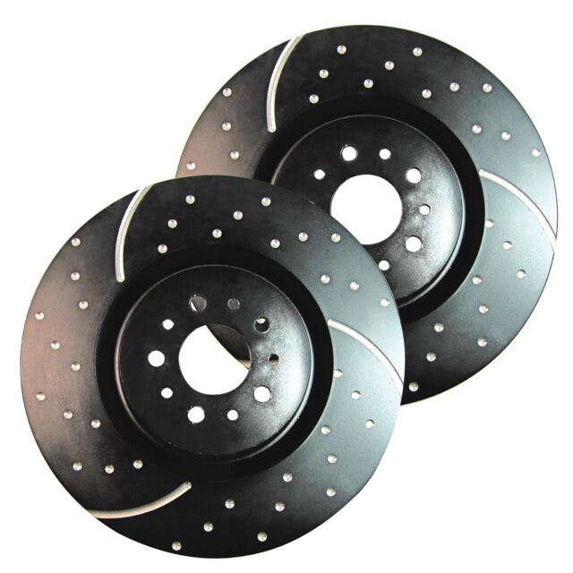 EBC GD Sport Rotors / Turbo Grooved Upgraded Rear Brake Discs (Pair) - GD605