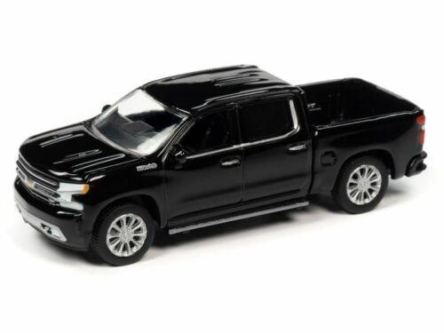 2019 Chevrolet Silverado High Country  Black *RR* Auto World Muscle 1:64 NEU