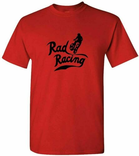 RAD RACING t shirt Funny Birthday Cotton Tee Vintage Gift For Men Women S-5XL;