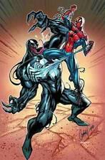 SPIDER-MAN vs VENOM POSTER J SCOTT CAMPBELL 24x36 NEW ROLLED IN TUBE COMIC KINGS