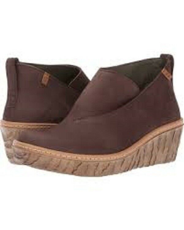 New El Naturalista Spain  Art to Wear Wear Wear  Myth Yggdrasil Brown Booties  38 e1fe7e