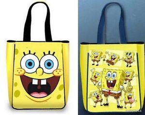 Acheteur Spongebob Bobsleigh Shopping À Femme Sponge Bandoulière Sac Jaune qSwEx5Oax