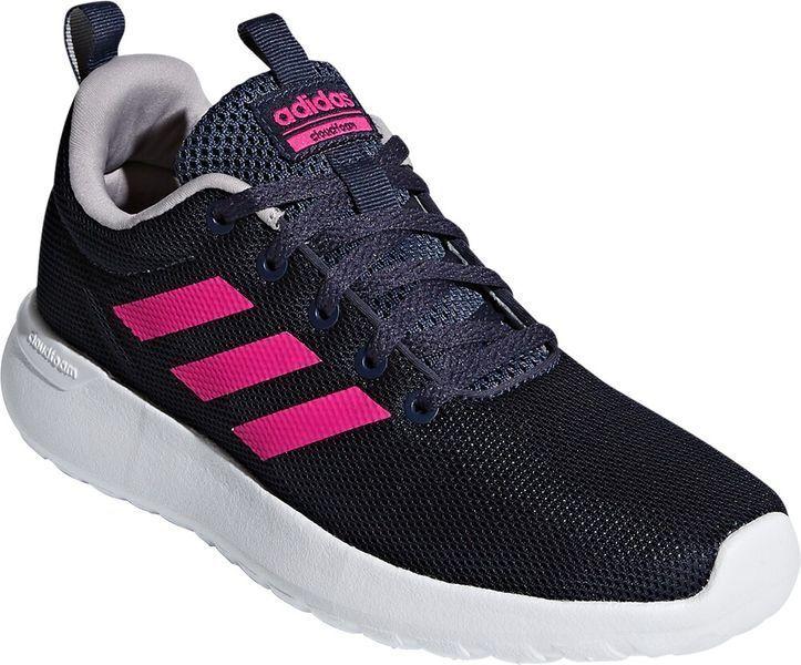 Adidas Kinder Laufschuh-Sportschuh LITE RACER CLN K black Pink Neu