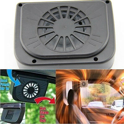 Vehicle Solar Powered Car Vent Window Fan For Car Auto Ventilator Air Cooling