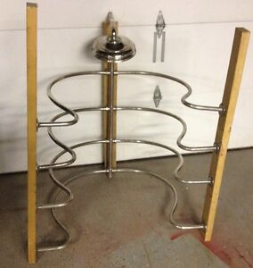 Antique-Rain-Shower-From-1909-Mansion-w-Rain-Shower-Head-JL-Mott-Nickel