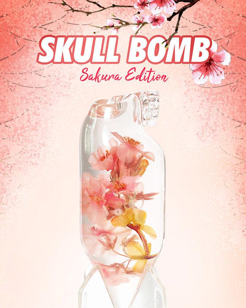 Mighty Jaxx SKULL SKULL SKULL BOMB (SAKURA EDITION) brand New Rare a95267