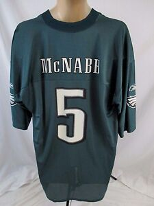 efea8f72b Philadelphia Eagles NFL Donovan McNabb  5 Mens XL Green Graphic ...