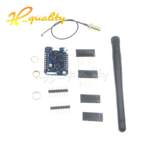 D1 Mini Pro-16MB Module ESP8266 Series WiFi Wireless Antenna WeMos Connector