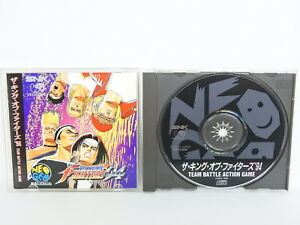 THE-KING-OF-FIGHTERS-94-Neo-Geo-CD-Neogeo-SNK-Game-nc