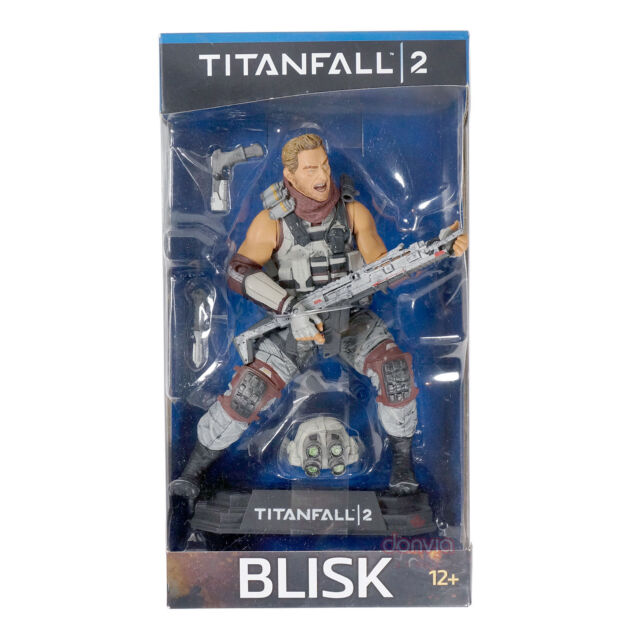 """McFarlane Toys Titanfall 2 Blisk #16 7"""" Color Tops Collector Edition figure"""