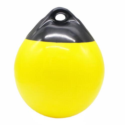 "1 Mooring Buoy inflatable Boat Fender Buoy Bumper Ball Dia H 17.8/"" 14.9/"""