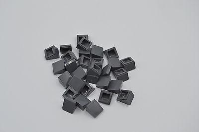 Lego Dachstein Slope 75 2x1x3 invers schwarz 4 Stück # 2449