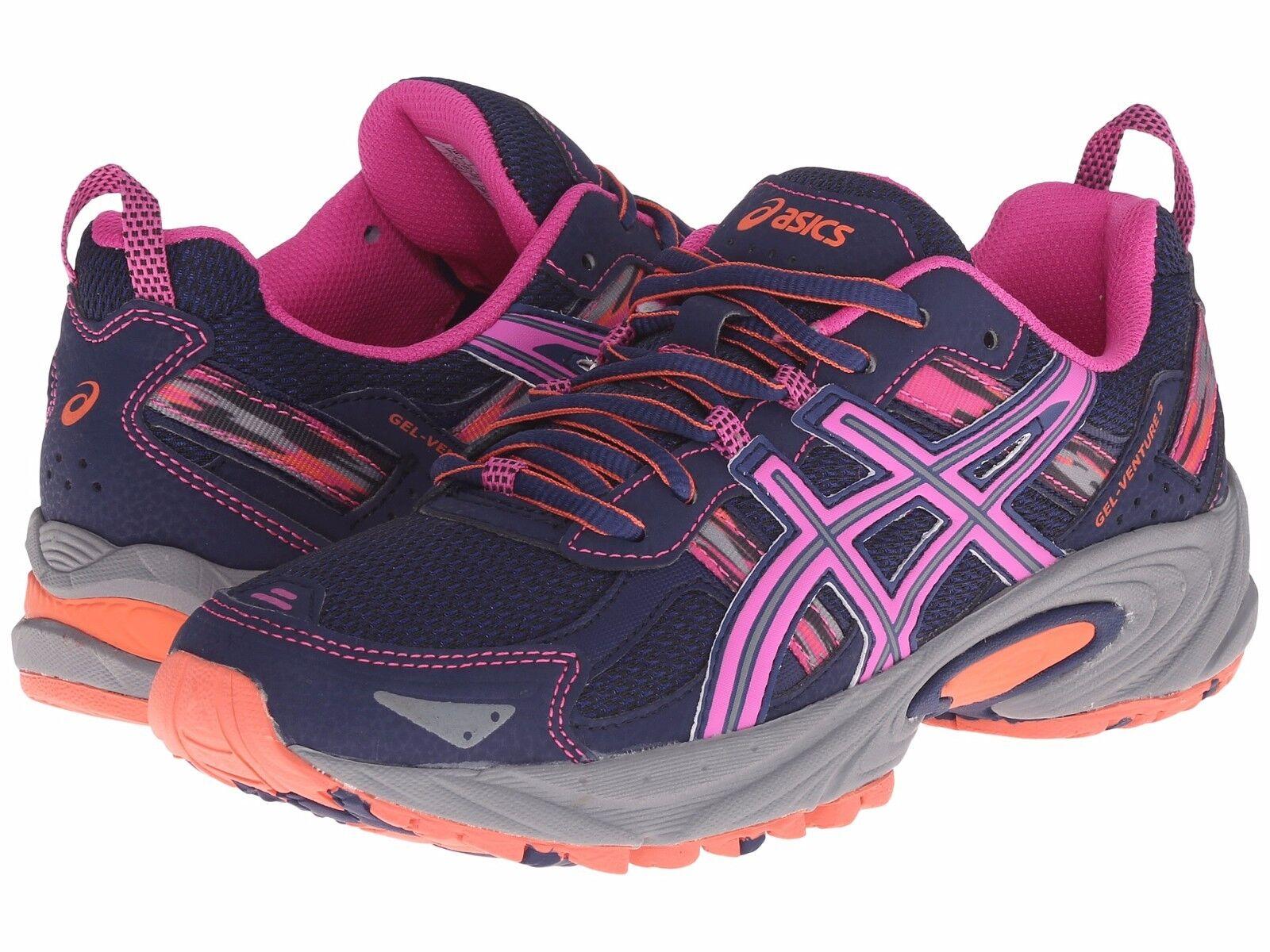 Nuevo Nuevo Nuevo en caja para Mujeres Asics Gel Venture 5 Calzado para Correr Elija Tamaño Mediano Azul rosado Coral  tiendas minoristas