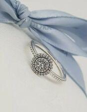 eb6c1f4f8 Authentic Pandora Radiant Elegance Feature Ring Size 52 190986CZ NEW