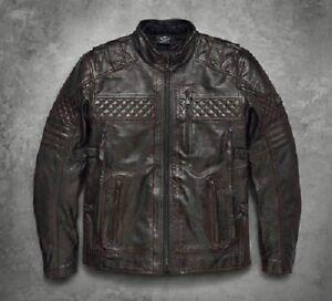 97193 Hombres Jacket 18vm Triple Harley Leather Ven Ironstone Davidson 3xl Brown 2xl 7qwxfaFR