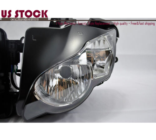 US Headlight Headlamp Clear For Honda CBR1000RR CBR1000 2008 2009 2010 2011