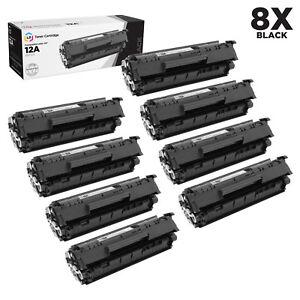 LD-8PK-Comp-Black-Laser-Toner-Cartridge-for-HP-12A-Q2612A-LaserJet-1010-1012