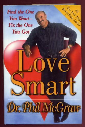 1 of 1 - Love Smart by Dr. Phillip McGraw HCDJ'05 G Qld Copy Qikpost F