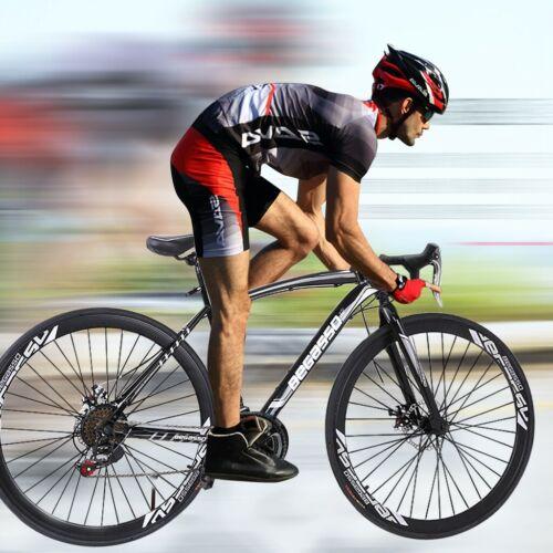 Road Bike Aluminium Shimano 21 Speed Road Racing Bikes Mens Bicycle 54cm 700C