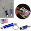 1PCS Blue Mini LED Flashlight and Banknote Checking Torch Laser Lamps UV Lights