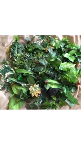 200 Hojas Artificial Falso Seda follaje JOBLOT Boda floristería Navidad Craft