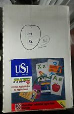 Usi 6527 Photo Plus 10 Mil 50 Industial Tag Withhole Lamination Pouches