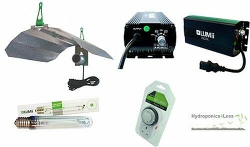 Lumii hidropónicas Kit De Luz Digital lastre Reflector sunblaster Sph 250 400 600 W