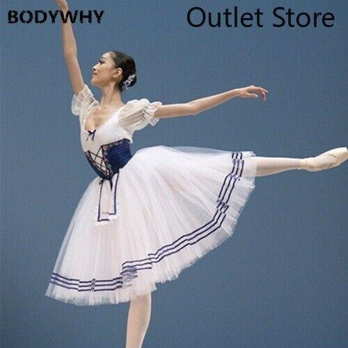 Details about  /Classical Short Puff Sleeve Ballet Costume Ballet Dress Girls Ballet Clothes