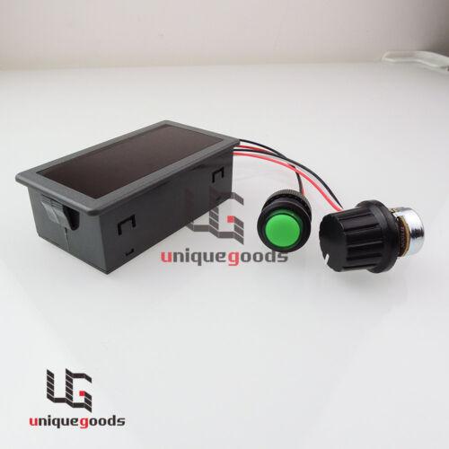 DC 6V 12V 24V 30V Max 8A Digital Display PWM DC Motor Speed Controller Switch