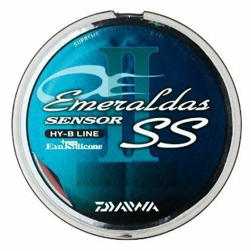 Daiwa PE LINE Emeraldas Sensor SSII+Si 100m  1.0 rosa  Fishing LINE From JAPAN