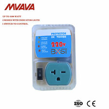 US Plug  Home Appliance Surge Protector Voltage Brownout Outlet 220 V 4400 WATTS