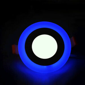 Round-Recessed-Downlight-3-2W-LED-Panel-Light-Blue-Warm-White-Double-Color-7A78