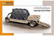 SPECIAL ARMOUR SA72015 1/72 A-Stoffanhänger Liquid Oxygen Tank for V2 Rocket