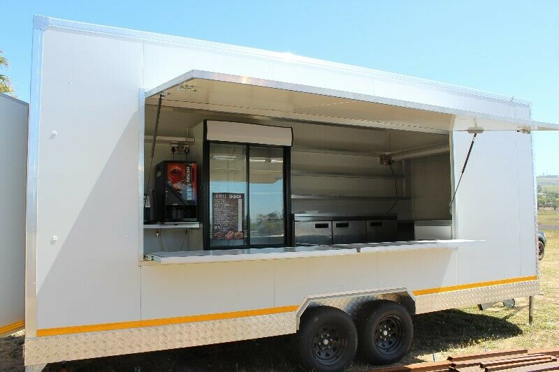 FOOD / COFFEE TRAILERS IN STOCK READY TO GO!! CALL TO VIEW!