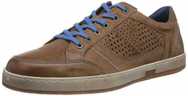 cd24cdc06f6 Josef Seibel Gatteo 12 Mens Laced Low Top Flat Comfort Sneaker Trainer  UK6.5-13